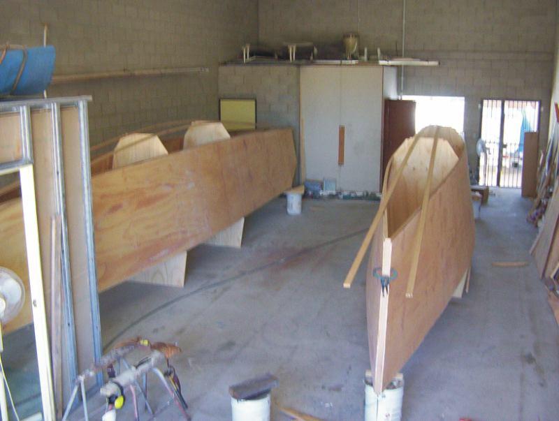 Carollza: Information Lapstrake plywood boat design